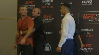 Fight Night Liverpool: Media Day Faceoffs