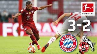 Gnabry To The Rescue Bayern München 1 FC Köln 3 2 Highlights Matchday 2 Bundesliga 21 22