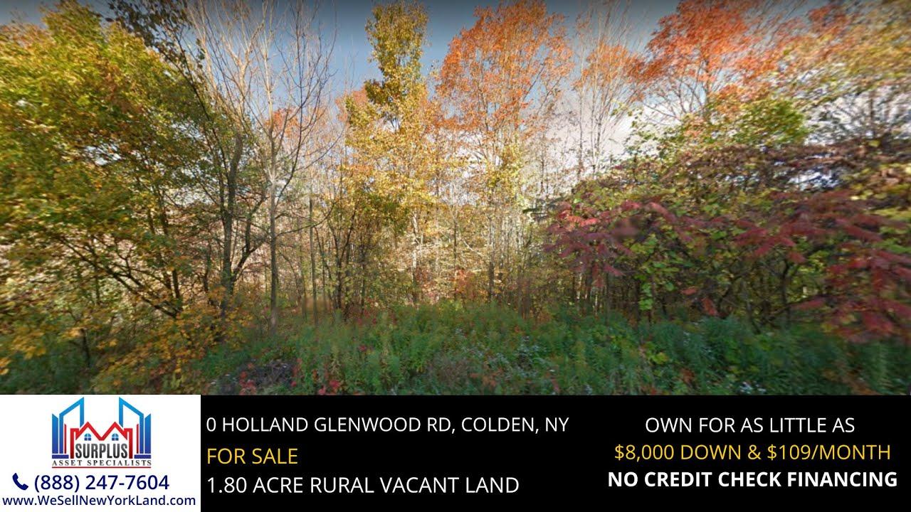 0 Holland Glenwood Road, Colden, NY - New York Land For Sale  - www.WeSellNewYorkLand.com