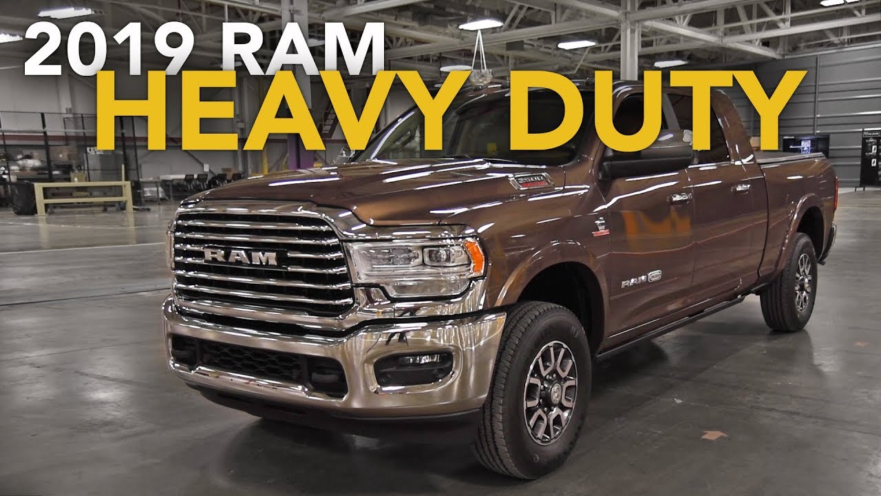19664d91 2019 Ram 2500 & 3500 Heavy Duty First Look - 2019 Detroit Auto Show