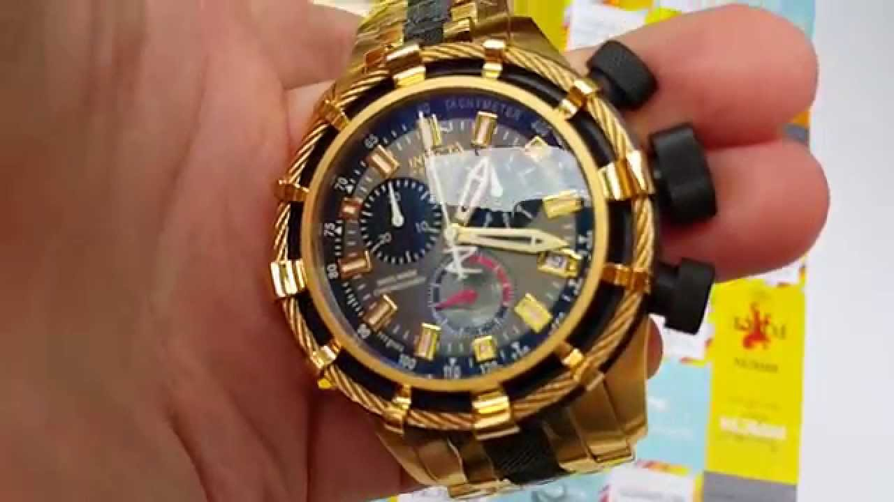 Швейцарские часы Invicta 5630 Reserve Bolt Swiss Yellow