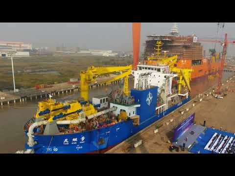 China Unveils 'Magic Island-Maker' - Asia's Largest Cutting-Edge Dredger Amid Territorial Rows