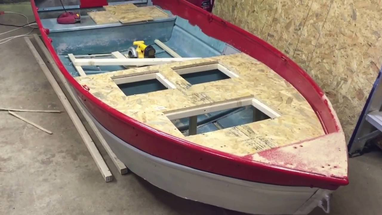 Jon Boat Mods Part 3 The Boetker Channel Youtube