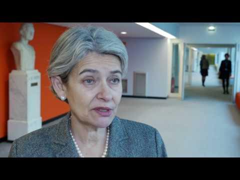 Protecting Cultural Property: Irina Bokova, Director-General of UNESCO