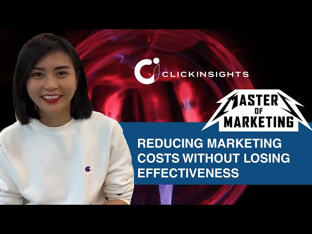 [Masters of Marketing] Reducing Marketing Costs Without Losing Effectiveness
