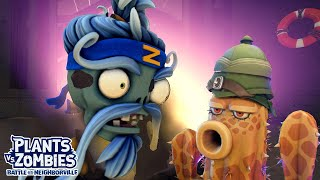Desert Explorer vs Zen Sensei Boss - Plants vs Zombies Battle for Neighborville - Gameplay Part 71