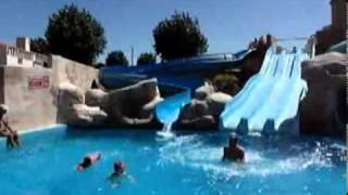 Camping La Plage - Toboggans aquatiques - 2011