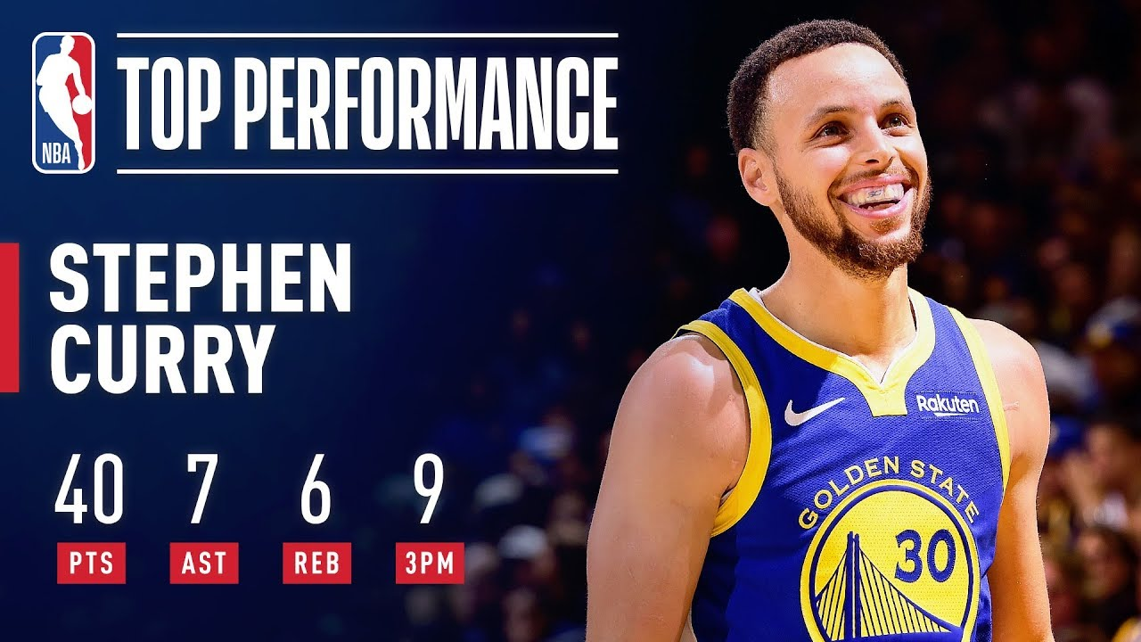Stephen Curry Knocks Down 9 THREE-POINTERS | April 5, 2019