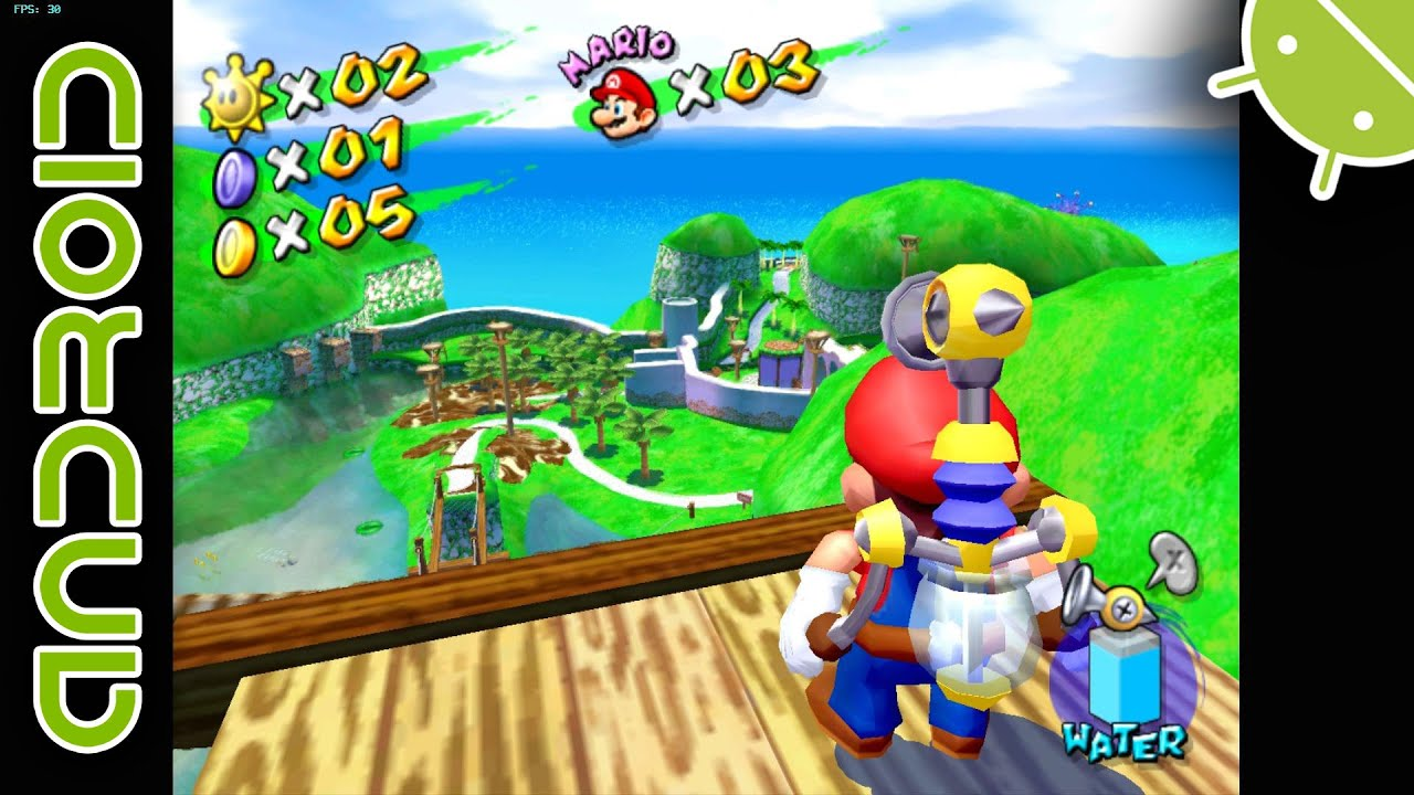 play super mario sunshine gamecube online free