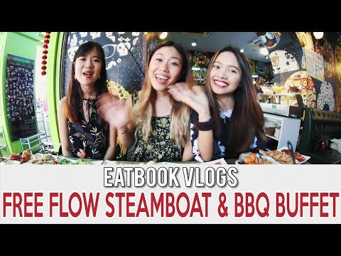 HAO LAI WU CRYSTAL STEAMBOAT & BBQ FOR $16.80+ l Eatbook Vlogs l EP22