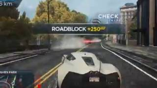 Taking out Most Wanted 5 with Marussia B2 in NFS MW 2012