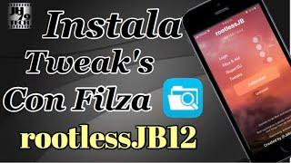 Why filza is empty i fix the files filzaescaped on iphone