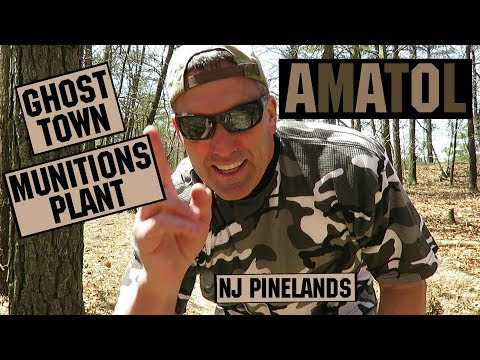 Amatol Ghost Town and Munitions Factory - NJ Pinelands NR