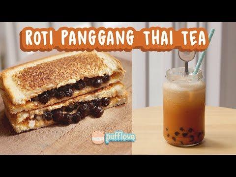 ROTI PANGGANG THAI TEA | BONUS RESEP THAI ICED TEA | TANPA OVEN TANPA KUKUSAN #5