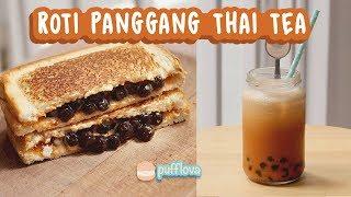 ROTI PANGGANG THAI TEA   BONUS RESEP THAI ICED TEA   TANPA OVEN TANPA KUKUSAN #5