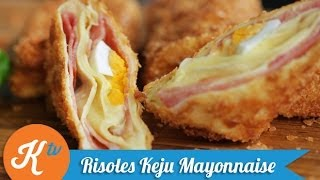 Cara Membuat Risoles Keju Mayonnaise (How to Make Cheese & Mayo Rissoles) | STANLEY MARCELLIUS
