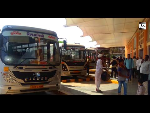 MEHSANA'S BUS PORT LIKE AIRPORT | MEHSANA CITY