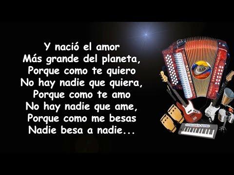 El Amor Mas Grande Del Planeta - Felipe Pelaez | Letra
