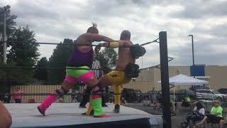 Slim Trimmons vs Lightning Bolt Johnson Honored Pro Wrestling 6-22-19