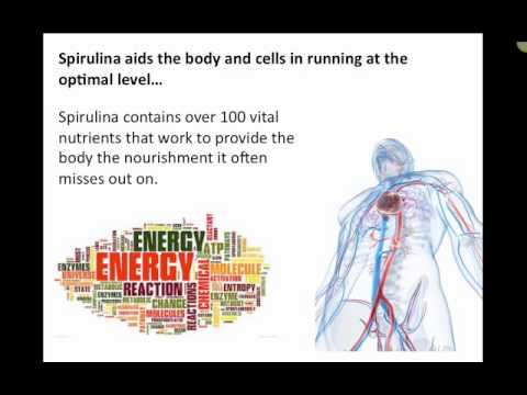 Spirulina and Metabolism Video