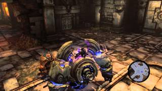Darksiders II - ч. 16 [Плавильня - 1й камень и новая способность](Ключ скелета - 04:40 Карта подземелья - 10:25