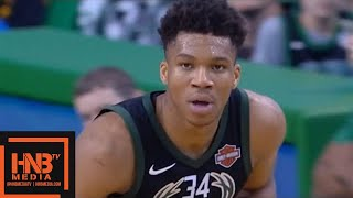 Boston Celtics vs Milwaukee Bucks 1st Half Highlights / Game 1 / 2018 NBA Playoffs