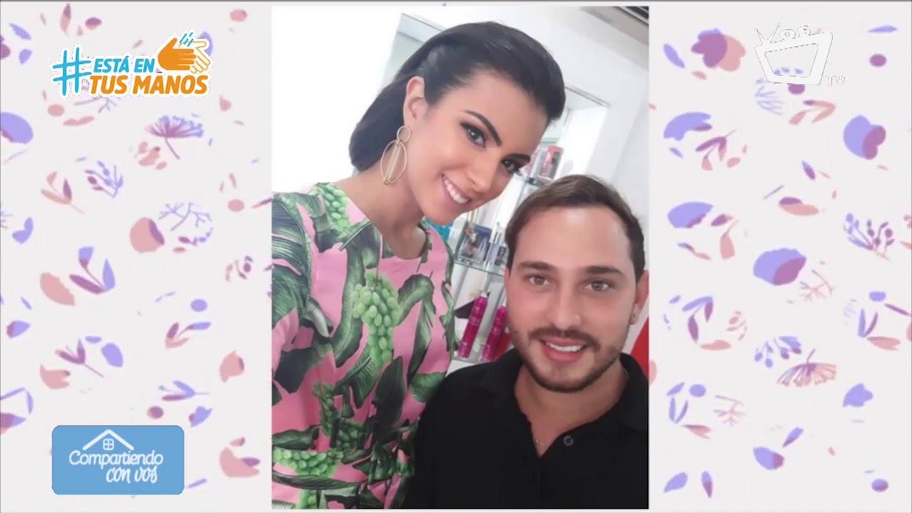 COMPARTIENDO CON VOS    Maquillaje y peinados para reinas de belleza