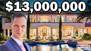 Inside a $13 Million Dollar Tuscan Mansion in Las Vegas | Luxury Vegas Homes