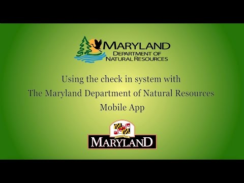 Using The Check In System With The DNR Mobile App - Maryland Department Of Natural Resources