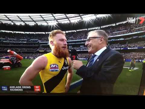 AFL Grand Final after the siren