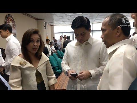 Legarda, Pimentel help Cusi answer Lacson's question in CA hearing
