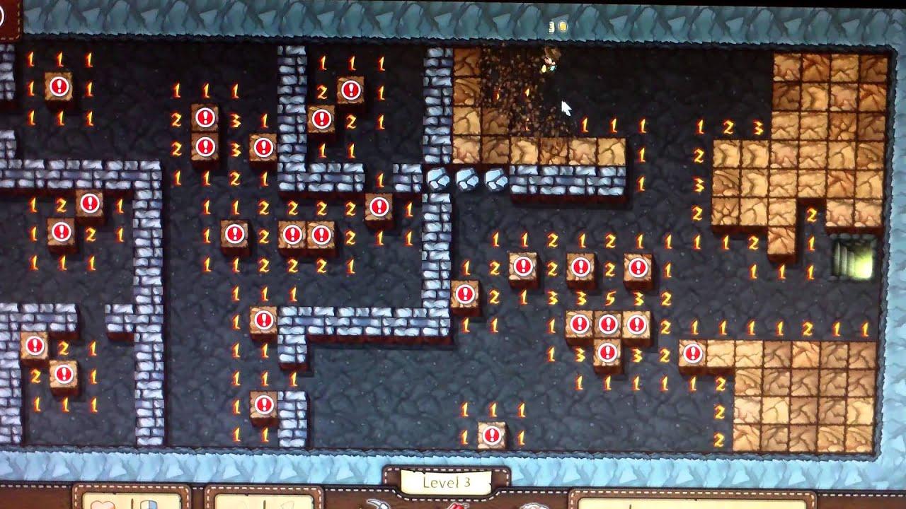 Minesweeper Windows 8 Levels 1-3 Adventure Mode, Classic Mode
