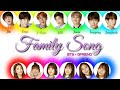 BTS X GFriend - Family Song (wednesday) [color coded lyrics]