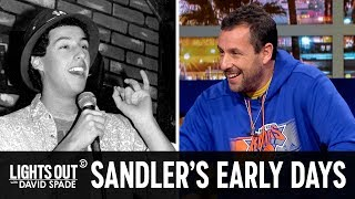 How Adam Sandler Met David Spade - Lights Out with David Spade