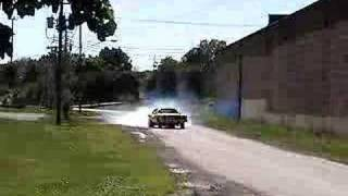 77 Chevy Monte Carlo Burnout.