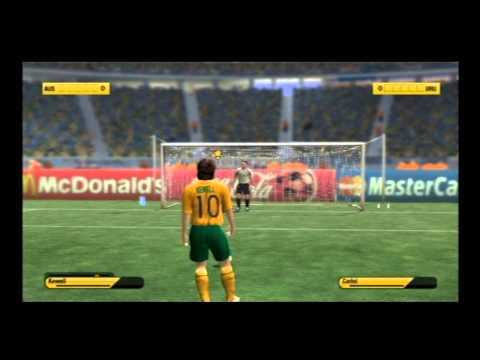 FIFA World Cup 2006 PS2: Australia Vs Uruguay ShootOut