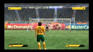 FIFA World Cup 2006 (PS2): Australia Vs Uruguay Shoot-Out