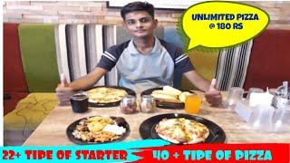 UNLIMITED PIZZA @ 180 || PIZZA ZONE ||  COOL KATHIYAWADI