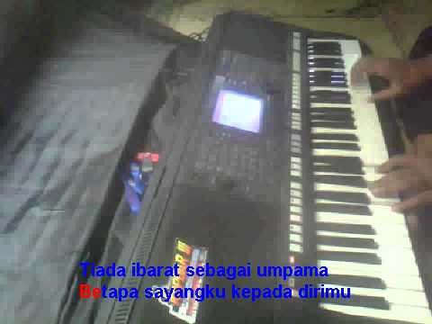 Cuma Kamu Rhoma Irama Karaoke Yamaha PSR S750