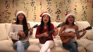 Christmas in the Sand - Colbie Caillat (Acoustic Ukulele Cover) | Honoka & Azita with Karlie Goya