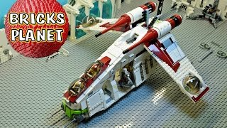 Republic Gunship 75021 LEGO Star Wars set - Review, Stop Motion, Time-Lapse Build