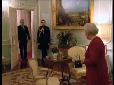 The Queen and Tony Blair 2007