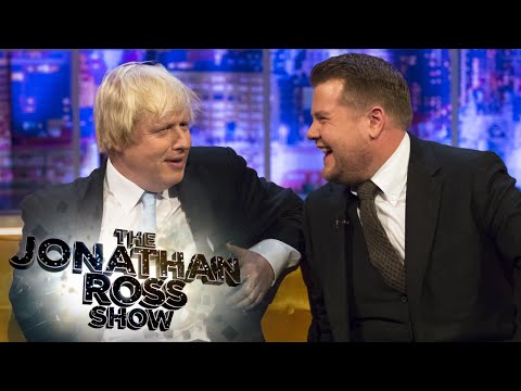 Mayor Boris Johnson Talks Bike Safety - The Jonathan Ross Show