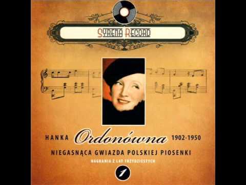 Hanka Ordonówna - Szczęście raz się uśmiecha (Syrena Record)
