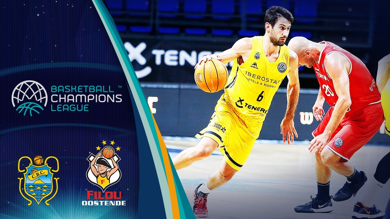Iberostar Tenerife v Filou Oostende - Full Game - Round of 16 - Basketball Champions League 2019