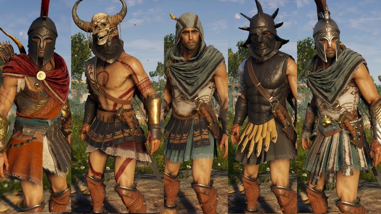 AssassinS Creed Odyssey Rüstung