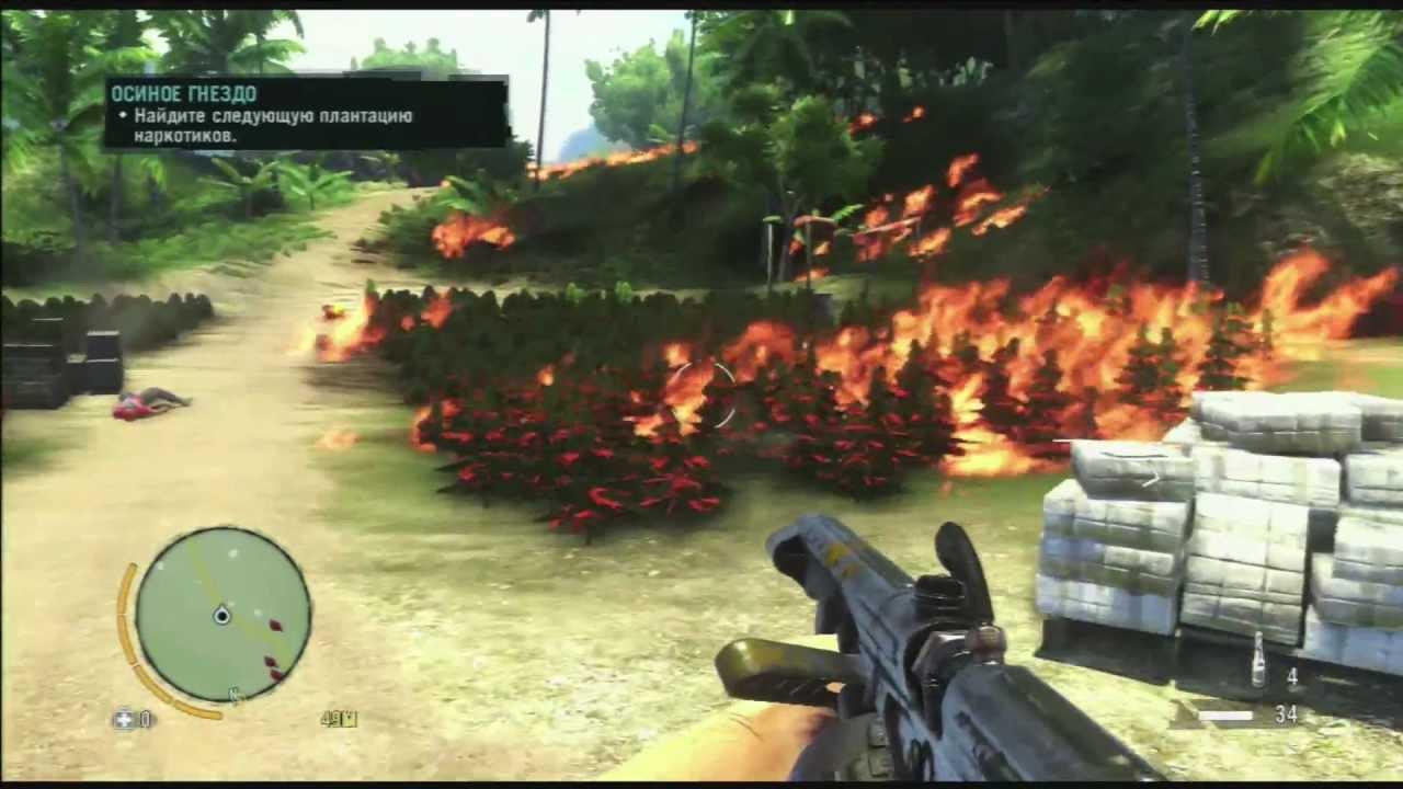 Far cry 3 сжечь коноплю быстро вывести марихуану крови