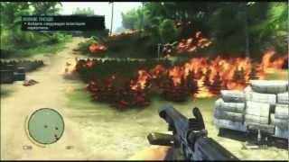 Far Cry 3: Поля Травы, миссия Осиное Гнездо. Ммм Марихуана =)