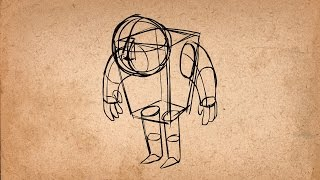 11. Solid Drawing - 12 Principles of Animation