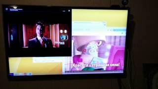 Одновременное воспроизведение видео в Windows 8.1 и Virtual Android (AmiDuOS)(Одновременное воспроизведение видео на Intel Atom Z3735F в браузере (1080p) и Virtual Android - AmiduOS (1080p). А ваш AndroidBox так может? ;), 2015-03-31T21:16:12.000Z)
